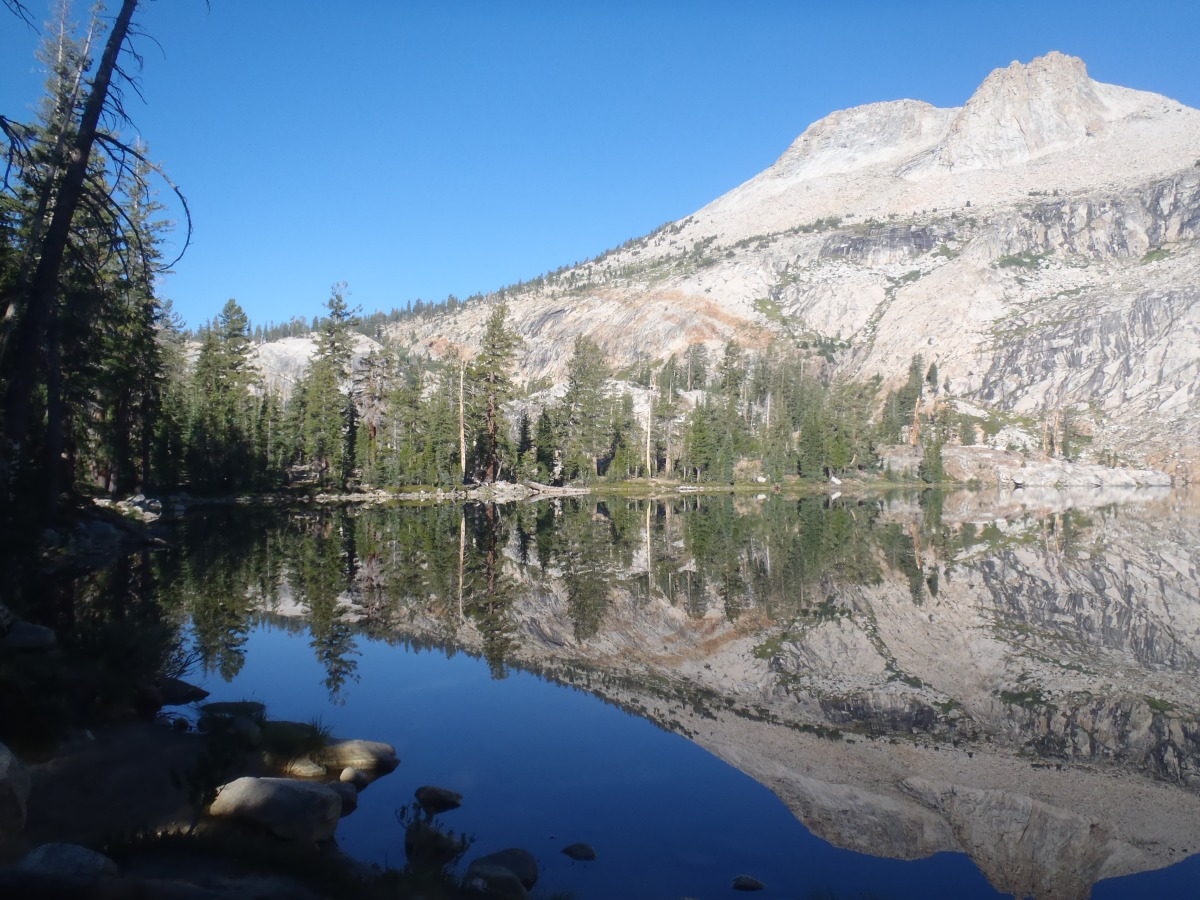 The High Sierra Wilderness of Yosemite