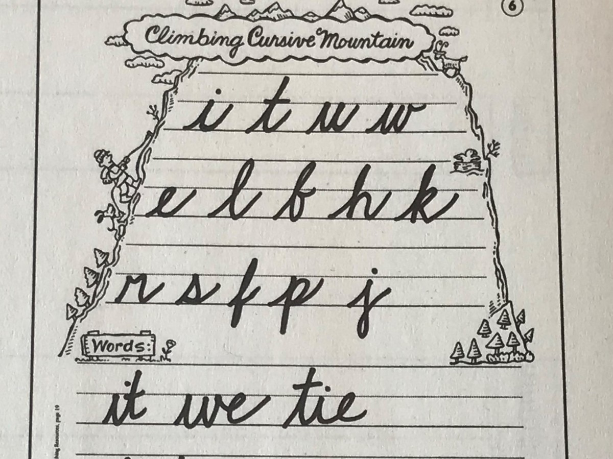 Have You Abandoned Cursive?