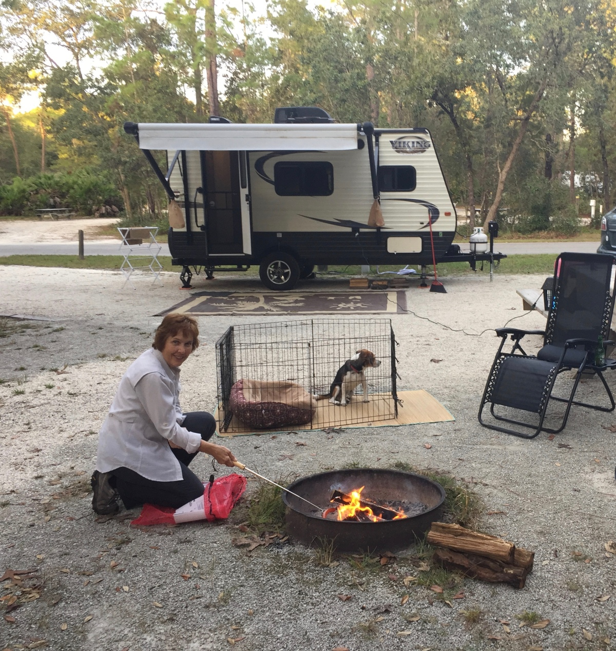"""Roughing It"" at Silver Springs"