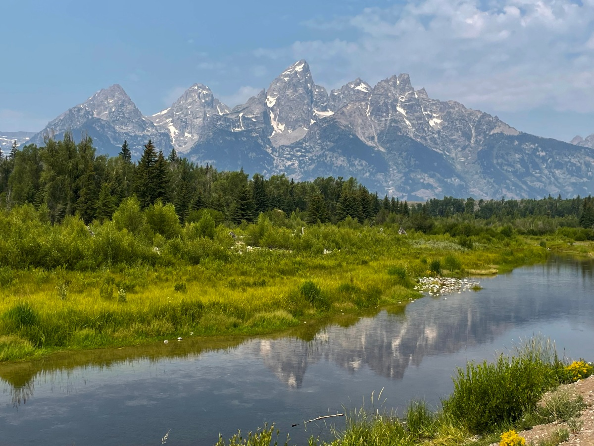 Teton Magic—First you see them, then youdon't.